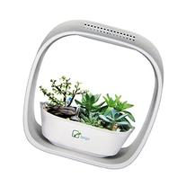 Spigo Indoor LED Light Grow Garden, Pearl White
