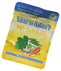 Natural Balance Indoor Platefuls Turkey/Chicken/Duck Cat