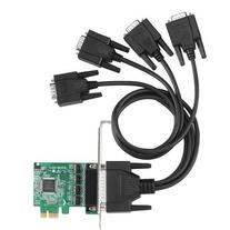 4 Port Industrial Grade RS232 Serial PCI Express Card Low