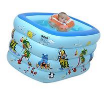 "Warmword 57.2"" * 42"" * 30"" Inflatable Baby Bathtub Swimming"