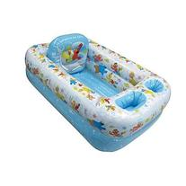 Sesame Street Inflatable Bathtub Kids Toddler Home or Travel