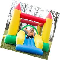 Inflatable Castle Bounce House with Slide and Blower 160