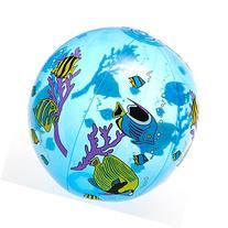 "Rhode Island Novelty 16"" Inflatable Tropical Fish Beach Ball"