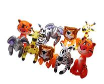 Inflatable Zoo Animals, Party Guests Jungle Safari Includes