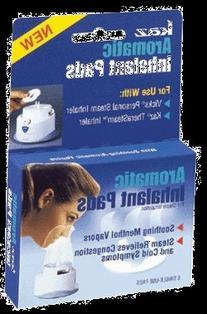 Kaz Inhalant Pads, Aromatic, for Steam Inhalation