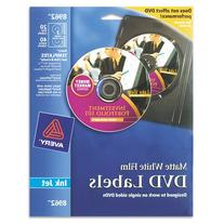 Avery DVD Labels Matte White for Ink Jet Printers