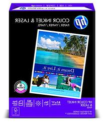HP - Color Inkjet Paper, 96 Brightness, 24lb, 8-1/2 x 11,