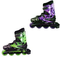 Linear Inline Roller Blade Skates, Green, Mens 7/Ladies 8