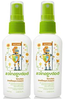 Babyganics Natural Insect Repellent, 2 oz, Packaging May