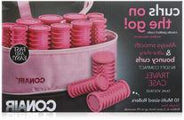 Conair Instant Heat Compact Hot Rollers; Pink