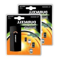 Duracell Instant USB Charger + Universal Cable with USB &