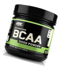 Optimum Nutrition Instantized BCAA 5000mg Powder, Unflavored