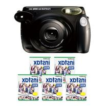 Fujifilm INSTAX 210 Instant Photo Camera Kit with 5 Twin
