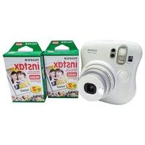 FujiFilm Instax Mini 25 Instant Camera Bundle with 2x Instax