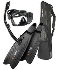 Mares Instinct Pro Polytec Freediving/Spearfishing Mask Fin
