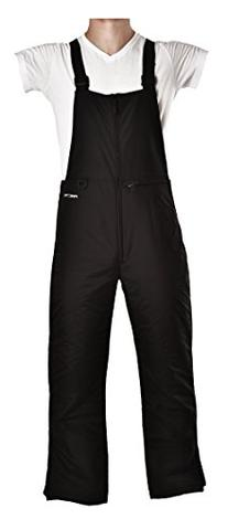 Arctix Men's Insulated Overalls Bib, 4X-Large, Black