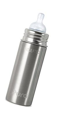 Pura Insulated Stainless Steel Infant Bottle With Silicone