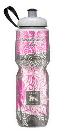 Polar Bottle Insulated Water Bottle, Island Blossom, 24-