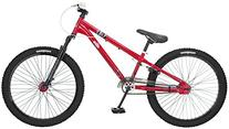Mongoose Intake Jump Bicycle, Red, 24-Inch