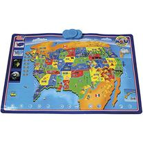 CP Toys Interactive Talking USA Wall Map w/ 1000 Facts and