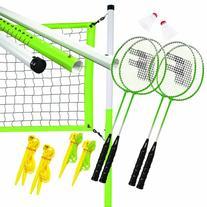 Franklin Sports Intermediate 4 Player Badminton Set