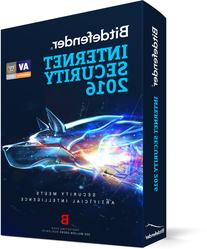 Bitdefender Internet Security 2016 1 PC 1 Year