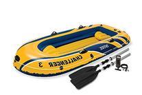 """Intex 68370ep 116"""" L X 54"""" W X 17"""" H Challenger Lake Boat"""