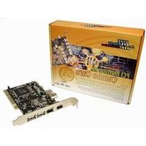 Cables Unlimited IOC-5300 USB 2.0 and Firewire 1394a PCI