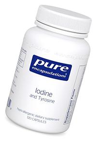 Pure Encapsulations - Iodine and Tyrosine - Hypoallergenic
