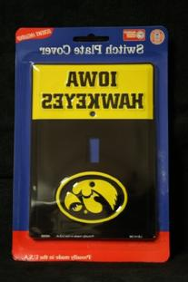Iowa Hawkeyes Metal Light Switch Plate