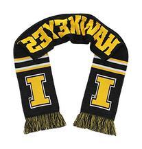 Iowa Hawkeyes Scarf - University of Iowa Knitted Classic