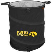 NCAA Iowa Hawkeyes 3-n-1 Collapsible Trash Can, Cardinal