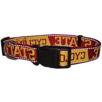 Pet Goods NCAA Iowa State Cyclones Dog Collar, Small