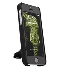 PWR+ Extra Thin Kickstand Style Cellphone Case, Matte Black