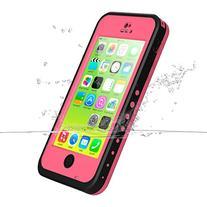 iPhone 5c Case, iThrough Underwater, Dust Proof, Snow Proof