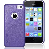 iPhone 5C case, INVELLOP Royal Purple Leatherette Case