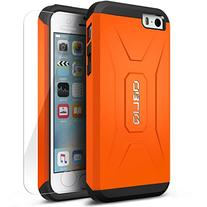iPhone 5C Case, Obliq  w/ HD Screen Protector - Premium Slim