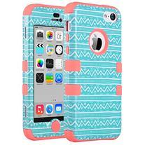 iPhone 5C Case, ULAK 3in1 Anti Slip IPhone 5C Case Hybrid