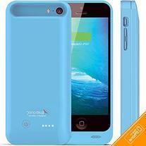 iPhone 5C / SE Battery Case, Alpatronix BX120plus 2400mAh