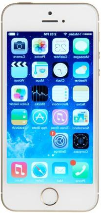 Apple iPhone 5s GSM Unlocked Cellphone, 64 GB, Gold