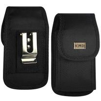 iPhone 6 6s 7 Holster,  Black Carrying Cell Phone Case Belt