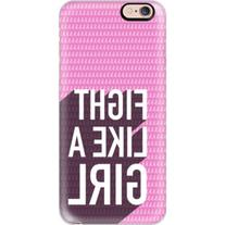 iPhone 6 Plus/6/5/5s/5c Case - Fight like a girl, breast