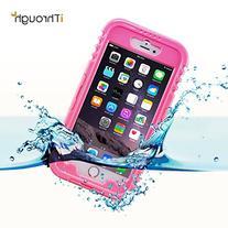 iPhone 6 Plus Waterproof Case, iThroughTM iPhone 6s Plus