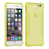 iPhone 6s Case, LUVVITT  Soft Slim Flexible TPU Back Cover Transparent Rubber Case for Apple iPhone 6 / iPhone 6s  - Neon Yellow