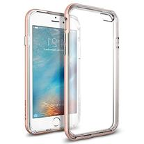 iPhone 6s Case, Spigen  PREMIUM BUMPER  Clear TPU / PC Frame