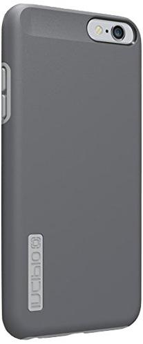 iPhone 6S Plus Case, Incipio DualPro Case  Cover fits both Apple iPhone 6 Plus, iPhone 6S Plus - Dark Gray / Light Gray