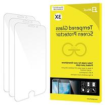 JETech 3-Pack Screen Protector for Apple iPhone 8, iPhone 7