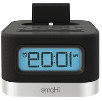 iHome iPL8BN Stereo FM Clock Radio with Lightning Dock for
