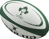 Gilbert Ireland Replica Rugby Ball - Size 5