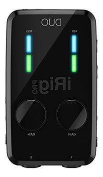 IK Multimedia iRig PRO DUO 2 channel professional audio